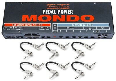 New Voodoo Lab Pedal Power Mondo Guitar Effect Pedal Power Supply Labs