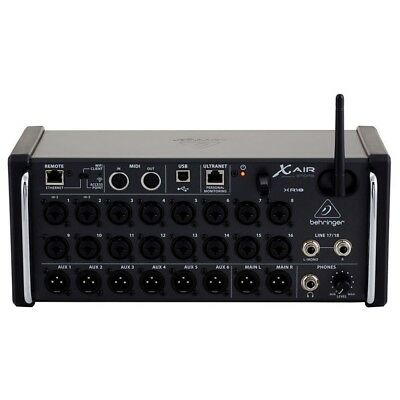 BEHRINGER X AIR XR18 Mixer Digitale Wifi Usb 18 Canali X Tablet Ipad Android • 791.98£