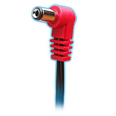 Cioks 2050 Flex 2 50cm Center Positive 5.5/2.1mm DC Plug Guitar Pedal Cable Red • 5.48£