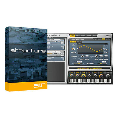 AIR Music Technology Structure 2 Multi-Timbral Sampler Instrument Software (Down • 116.51£