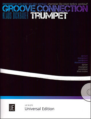 Universal Edition-groove Connection-trumpet:brand New Music Book/cd On Sale!! • 12.81£