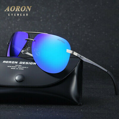 Mens-Womens-POLARIZED-Sunglasses-Outdoor-Sports-Pilot-HD-Eyewear-Driving-Glasses • 6.99£