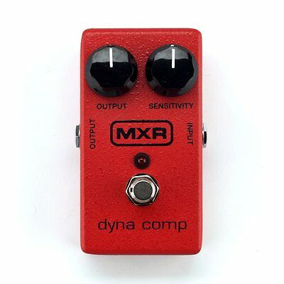 MXR M102 Dyna Comp Compressor Compression Electric Guitar Effects Pedal Stompbox • 56.74£
