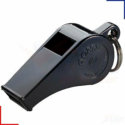 Acme Thunderer 660 Black Official Football Referee Pea Safety Whistle Loud • 3.95£