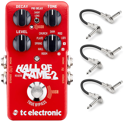 New TC Electronic Hall Of Fame 2 Reverb Guitar Effects Pedal HOF • 115.24£