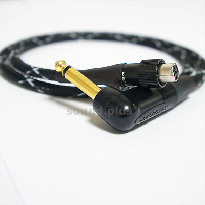 2.5Ft SCREW LOCK Replacement Cable 1/4  Guitar Shure GLXD16,GLX-D,UR4D AST-066 • 25.01£