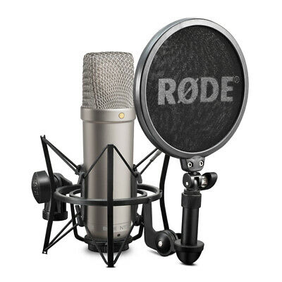 Rode NT1-A Studio Condenser Microphone Complete Vocal Recording Pack • 169£