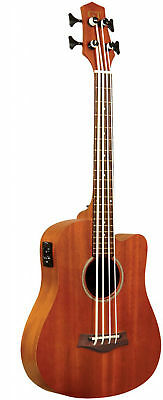 23 inches Acoustic-Electric Micro Bass with Gold Tone Bag