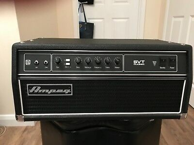 Ampeg SVT-CL Classic Bass Amp Made In USA • 1,200£