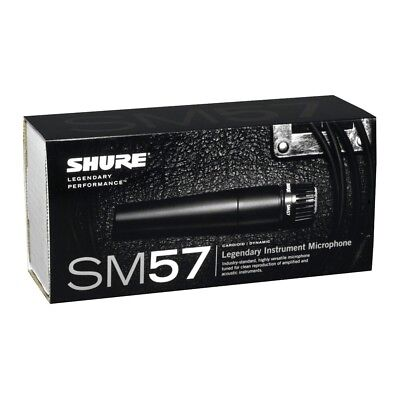 Shure SM57 Dynamic Wired Professional Microphone • 74.19£