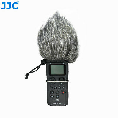 Wind Tech Mic-Muff Fitted Fur Windscreen Zoom H4 H4N H5 H6 Sony D50 Tascam DR-40 • 9.99£
