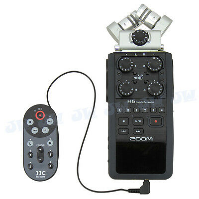 JJC Anti-Shake Wired Remote Control For ZOOM H6 Handy Recorder Replace ZOOM RCH6 • 8.49£