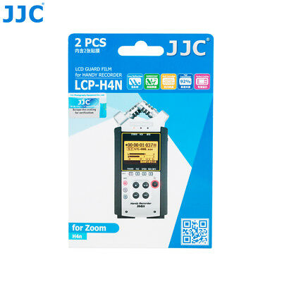 JJC 2PCS LCD Guard Film Screen Display Protector For Zoom H4n Pro Handy Recorder • 7.99£