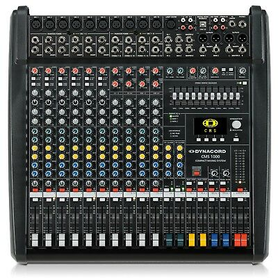 Dynacord Cms 1000-3 10-channel Compact Mixing System **exclusive Seller** • 1,551.11£