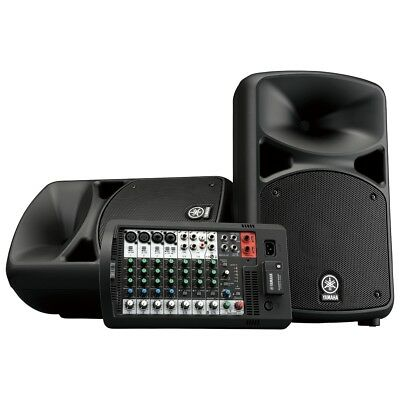 Yamaha StagePas 600BT Portable PA Passive Speaker Powered Mixer System Bluetooth • 799.35£