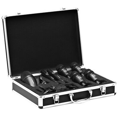 AKG Drum Set Session I 7 Piece Overhead Mic Microphone Pack W/ Case • 321.45£
