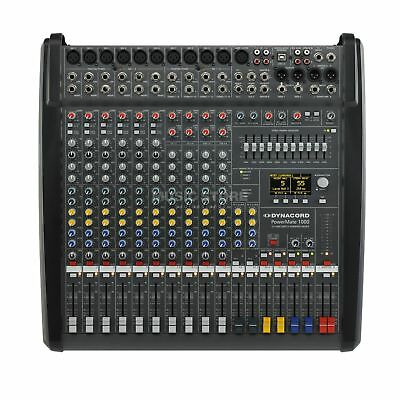 Dynacord Powermate 1000-3 10-channel Compact Mixing System **exclusive Seller** • 2,070.12£