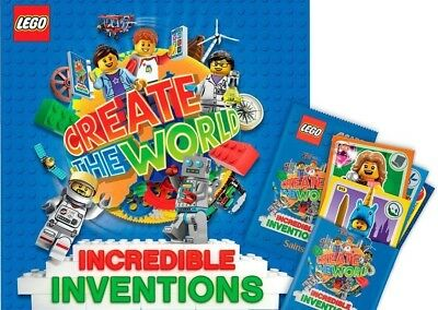 015 Create The World Card Pyramid Foil Incredible Inventions Lego
