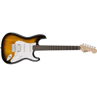 Fender Squier Stratocaster Bullet Strat HSS HT 3Pickup Hard Tail Electric Guitar • 136.97£