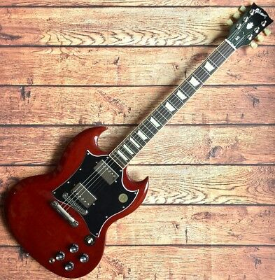 Gibson SG STANDARD 2016 HC Red Electric Guitar Free Shipping • 1,234.35£