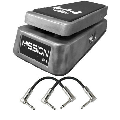 Mission Engineering EP1 Expression Pedal Boss FV500 Roland EV-5 Metal + Cables • 87.74£