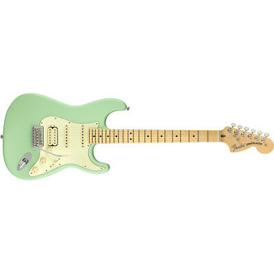 Fender American Performer Stratocaster HSS Electric Guitar Satin Surf Green • 930.86£