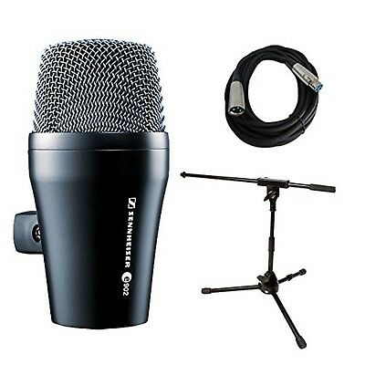 Sennheiser E902 Kick Drum Bass Dynamic Microphone With Stand And Cable Bundle • 218.37£