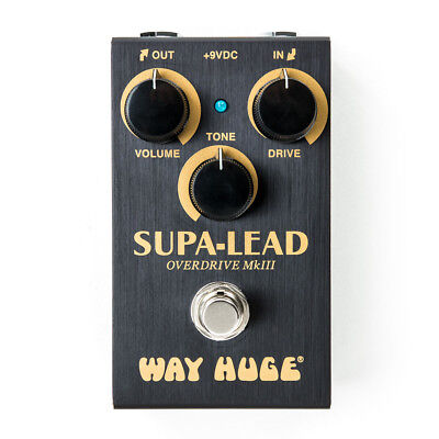 Dunlop Way Huge Smalls Supa Lead Overdrive MKIII Guitar Effect Pedal • 105.14£