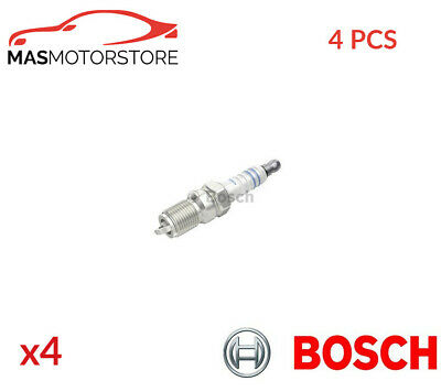 Engine Spark Plug Set Plugs Bosch 0 242 240 591 4pcs P New Oe Replacement • 18.95£