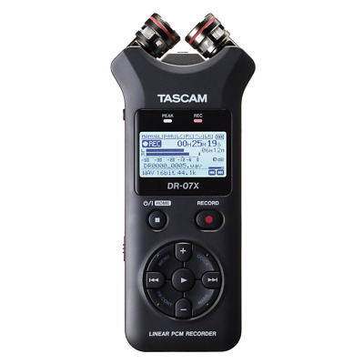 Tascam DR-07X Portable Handheld Stereo Recorder And USB Audio Interface • 145£
