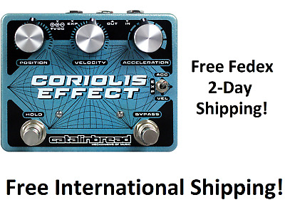 New Catalinbread Coriolis Effect Guitar Effects Pedal • 185.29£