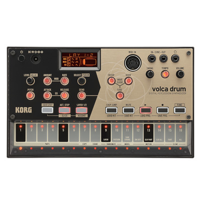 Korg Volca Drum Digital Percussion Synthesizer • 149£