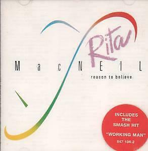 RITA MACNEIL Reason To Believe CD UK Polydor 1990 11 Track Info/Hype Sticker On • 4.82£