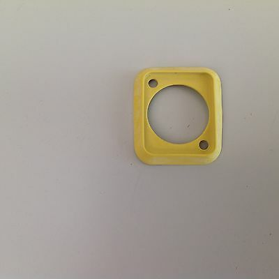 Neutrik SCDP-4 Yellow Sealing Rubber Gasket for D size chassis / panel sockets