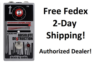 New Death By Audio Absolute Destruction Guitar Effects Pedal