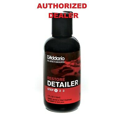 4 Ounce Restore Deep Cleaning Guitar Polish DAddario Planet Waves PW-PL-01 • 8.85£