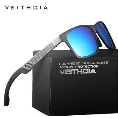 Men's Aluminum Polarized Driving Sunglasses Sports Mirrored Sun Glasses Eyewear • 6.50£
