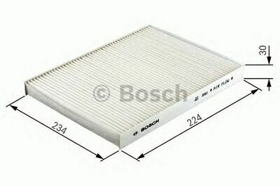 New Engine Cabin / Pollen Filter Oe Quality Replacement Bosch 1987432166 • 10.67£