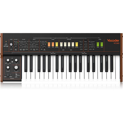 Behringer Vocoder VC340 Authentic Analog Vocoder For Human Voice And Strings • 500.38£
