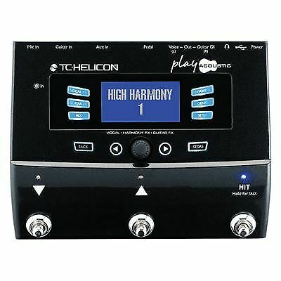 TC HELICON Play Acoustic Vocal FX And Guitar FX Pedal TC082 • 290.59£