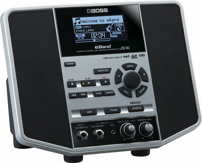 Boss Js-10 Eband Audio Player With Guitar Effects & 32gb Sd Card & Power Supply • 279.95£