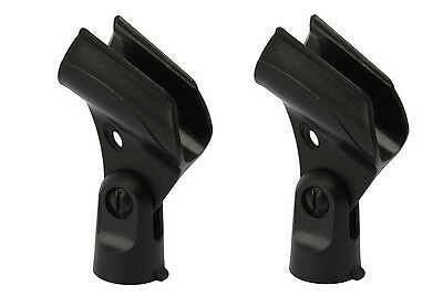 2 Pack Sm58 Mic Clip Replacement For Shure SM58 SM58LC SM57 Vocal Microphone • 4.49£