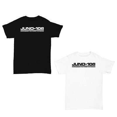 JUNO 106 MIDI CLASSIC MUSIC KORG ROLAND SYNTHESISER T SHIRT *Colours Available* • 9.99£