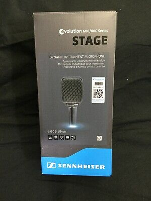 *BRAND NEW* Sennheiser E609 Dynamic Cable Professional Microphone - Silver • 81.68£