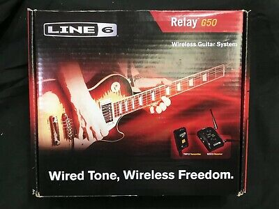 *NEW* Line 6 Relay G50 Digital Guitar Wireless System With Pro-Stompbox Receiver • 251.49£