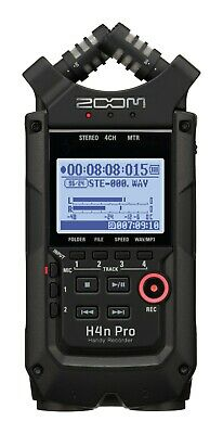 Zoom H4n Pro/UK Black Edition - Handy Recorder • 239£