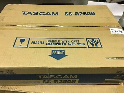 Tascam SS-R250N Memory Recorder W/Networking & Optional Dante Support Brad New • 665.62£