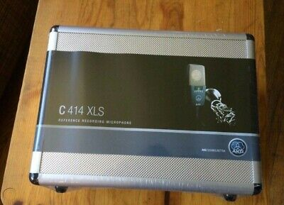 AKG C414 XLS Stereo Set Condenser Microphone Matched Pair Brand New • 1,728.23£