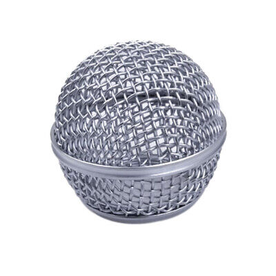 Meshed Hardened Steel Mic Ball Head For SHURE SM58 BETA58 BETA58a SM58LC SM58S • 2.32£