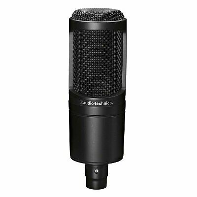 Audio-Technica AT2020 Side-Address Condenser Microphone - AT-2020 Mic • 71.30£